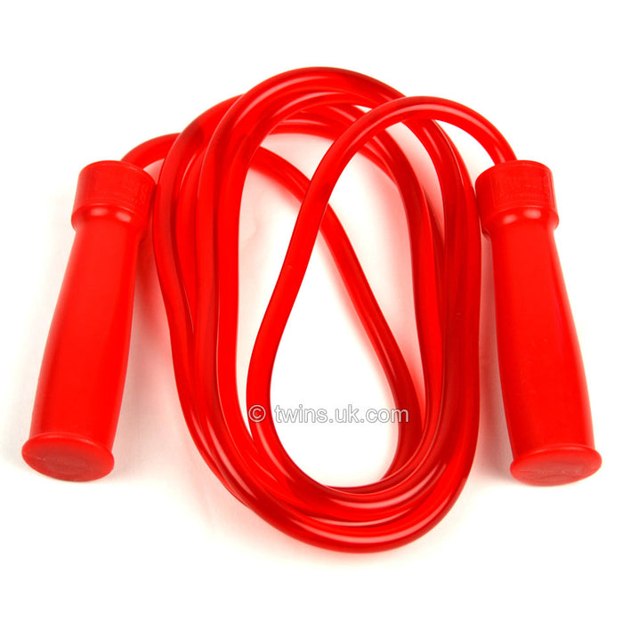 SR2 Twins Red Heavy Bearing Skipping Rope