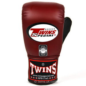 Twins Air-Flow Bag Mitts - Burgundy