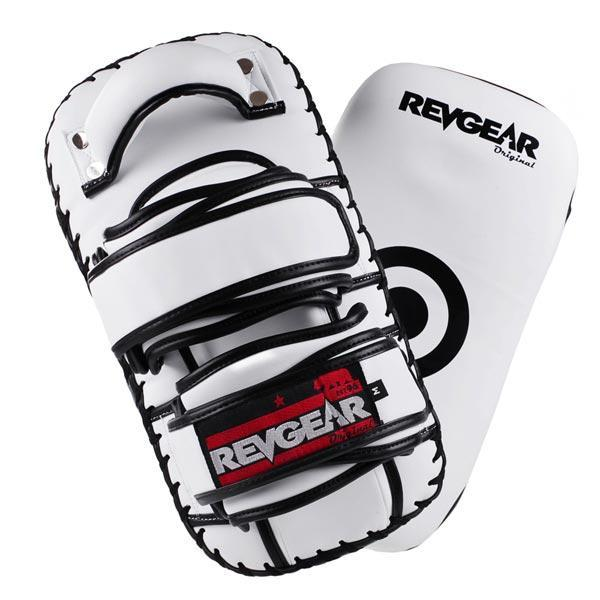 Revgear Original Thai Kick Pads - White