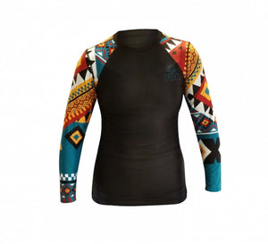 Fuji Sports Women's Tribal Rash Guard