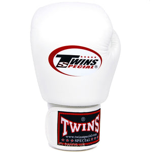 Twins Special Boxing Gloves White