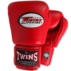 Twins Special Boxing Gloves Red 4