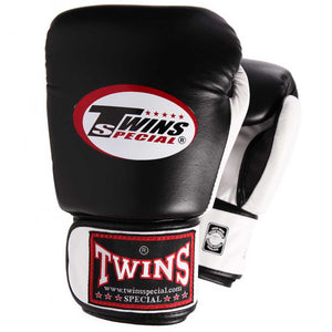 Twins Special Two Tone Boxing Gloves Black