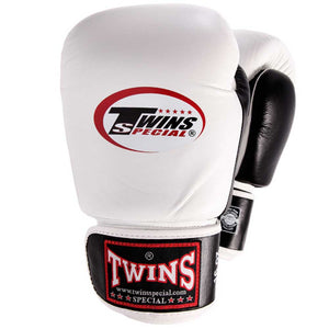 Twins Special Two Tone Boxing Gloves White