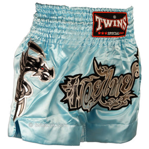 Twins TWS-867 Sky Blue Muay Thai Shorts