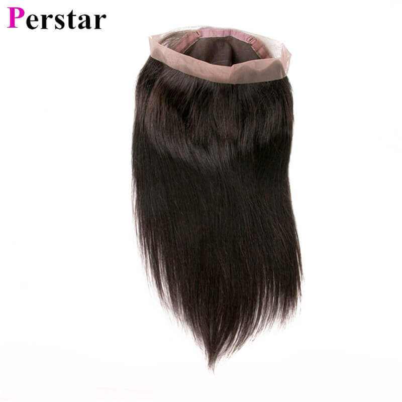straight hair 360 lace frontal