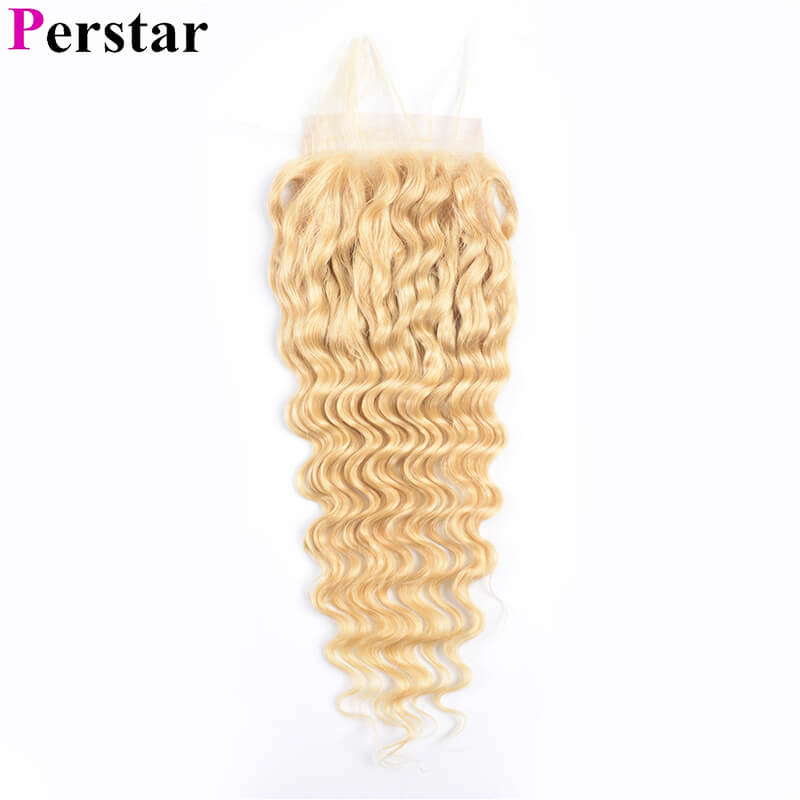 lace closure 613 blonde color