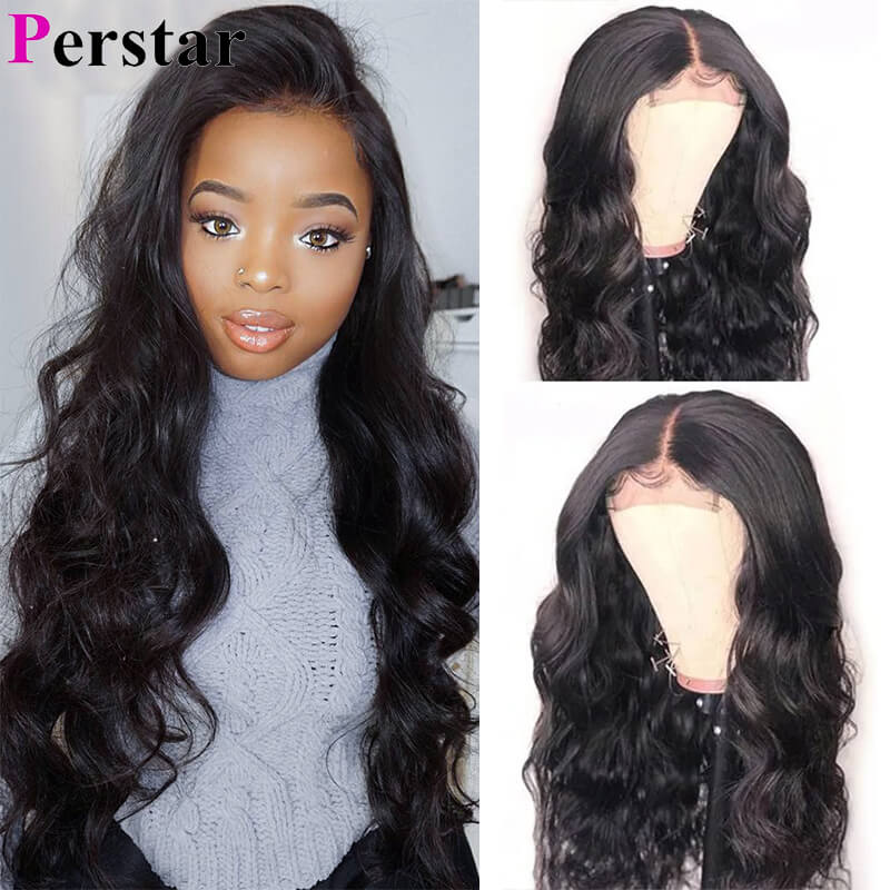 body wave 4x4lace front wigs