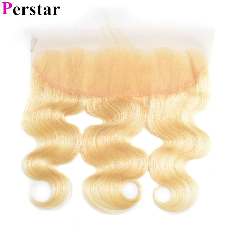 613 blonde color lace frontal