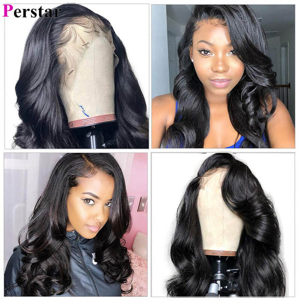 brazilian virgin hair lace front wigs