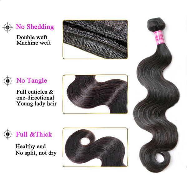 human virgin hair bundles