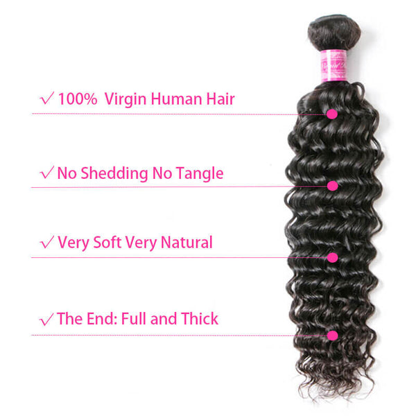 virgin human hair 1 bundle