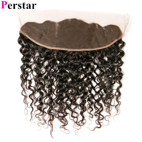human hair water lace frontal