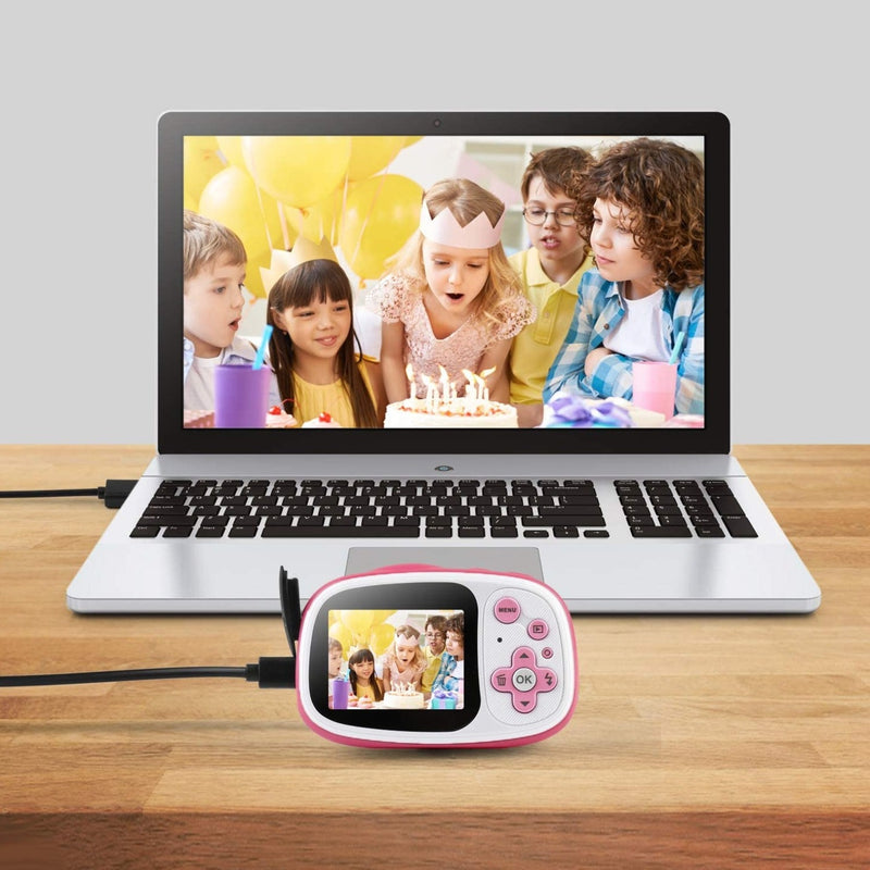 BABLE KC-BB02 Kids Camera with 16GB Micro SD Card
