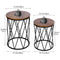 Nesting Table Stacking Coffee Table Set of 2