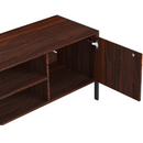 [out of stock] IRONCK retro TV Stand | with Cabinet 2 Shelves