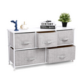 Wide Dresser Storage#color_White