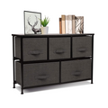 Wide Dresser Storage#color_Black