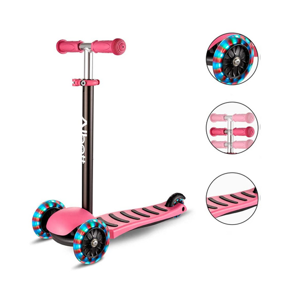 Kids Kick Scooter#color_Pink