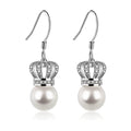 Pearl Drop Earrings#color_C