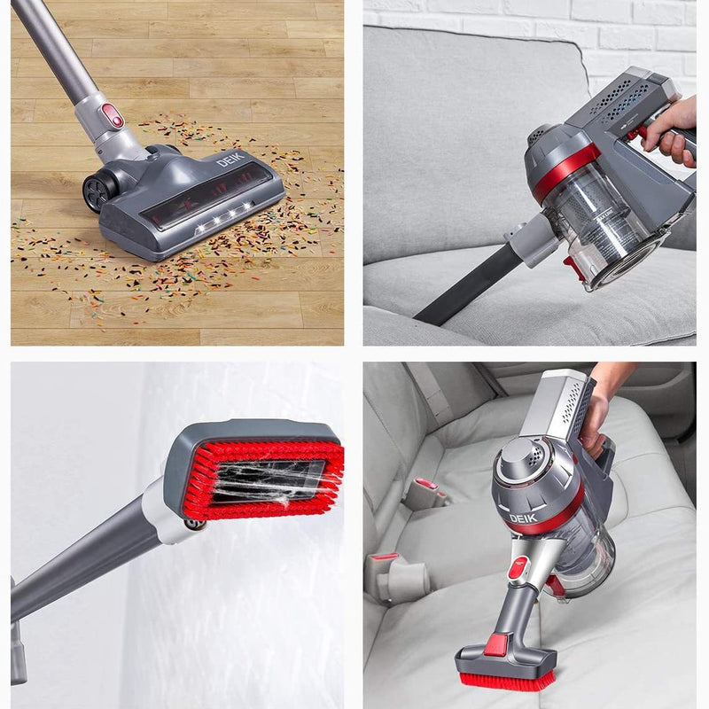 4 in 1 Cord-Free Stick Vacuum - Iron - KeeyPon