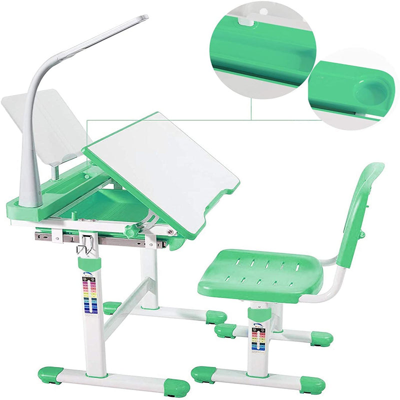 Study Table and Chair Set | for Children's Bad Posture Adjustment