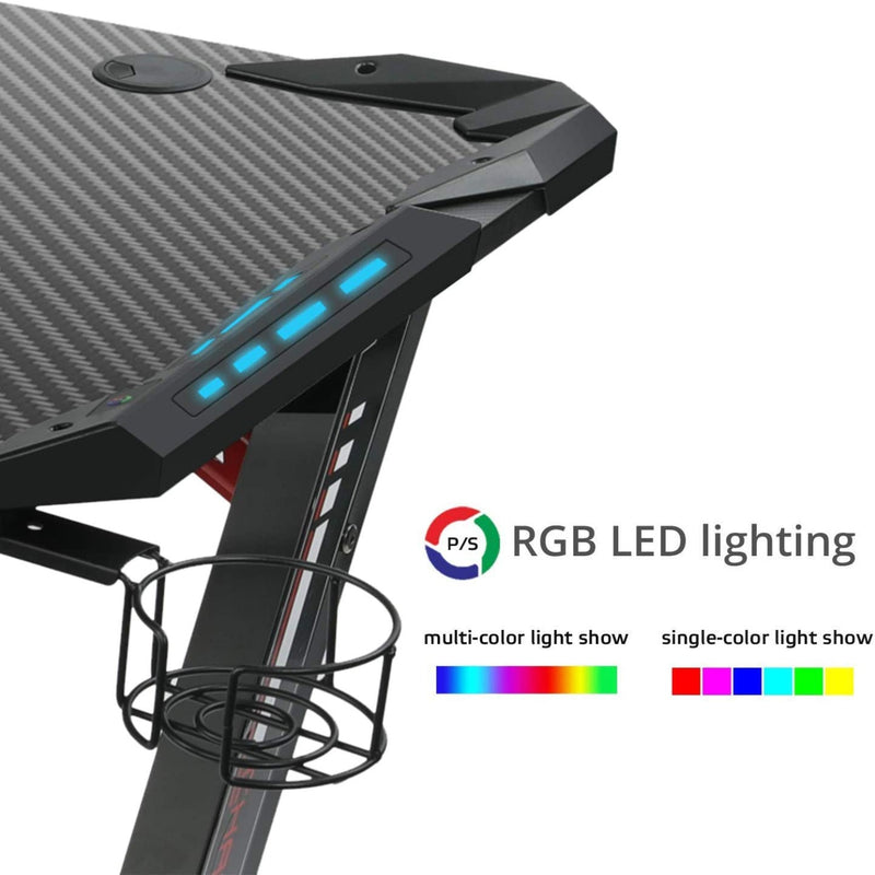 60'' RGB Gaming Desk