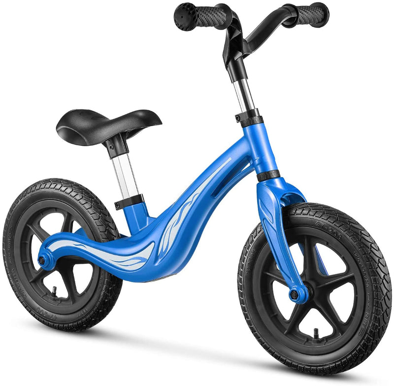 Balance Bike with No-Pedal Footrest