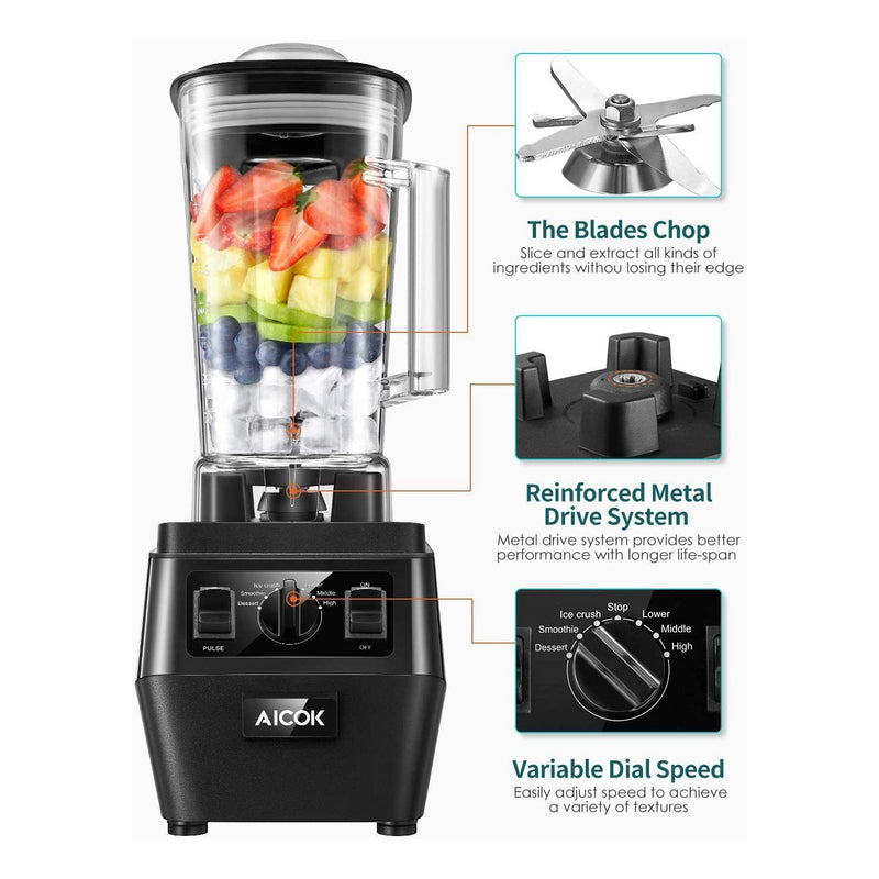 Aicok Professional Plus Blender 1400W