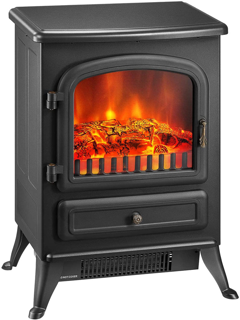 Freestanding Electric Stove | Realistic Log Flame