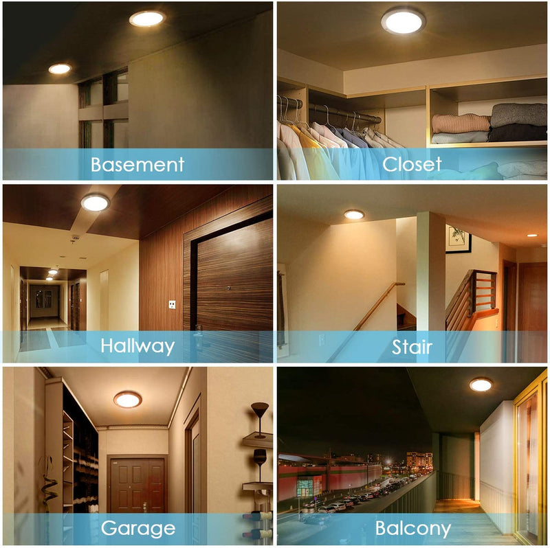 LED Flush Mount Ceiling Light Motion Sensor