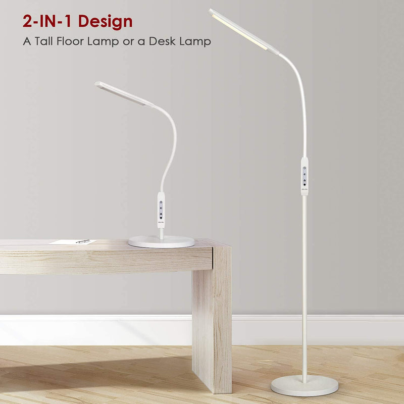 Floor Lamp also Table Lamp with Remote Control & Timer