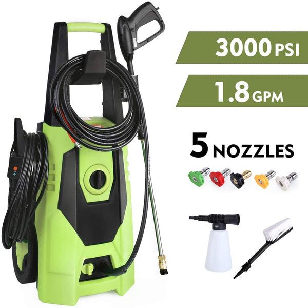Electric Pressure Washer#color_Light Green