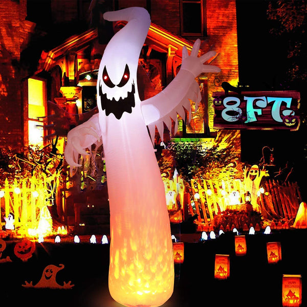 Halloween Decorations Inflatables 8FT LED Lights for Yard Outdoor Party