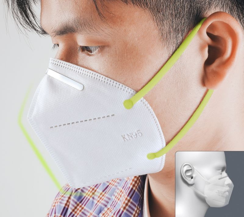 n95 face mask protection sheild covid19 coronavirus fit test us usa united states- keeypon