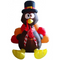 Christmas Decorations Inflatables 6FT Sitting Turkey | with LED Light
