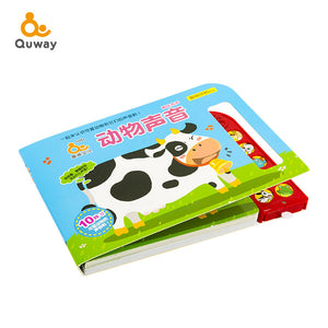 The Sound of Animals Early Learning Cognitive Sound Toy 动物声音有声书 - Hantastic Kids