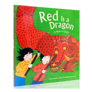 Red Is a Dragon - A Book of Colours - Hantastic Kids