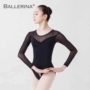 Ladies Long Sleeve Leotard