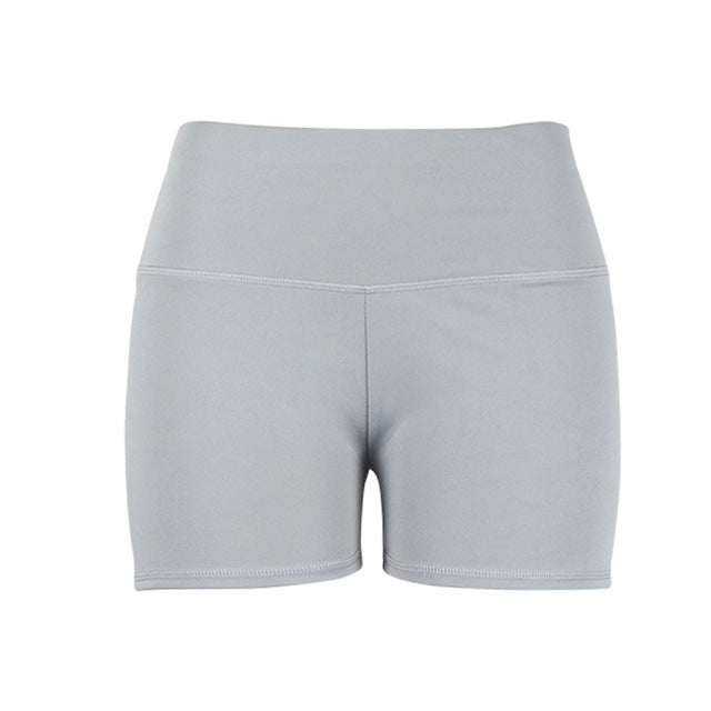 Ladies Biker Style Athletic Shorts