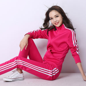 Ladies Warm-up Pant & Top Set
