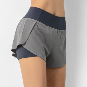 Ladies Double Layer Shorts