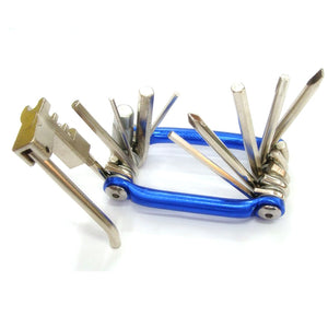 Bike Multi Tool - 11 In 1 Bike Repair Tool