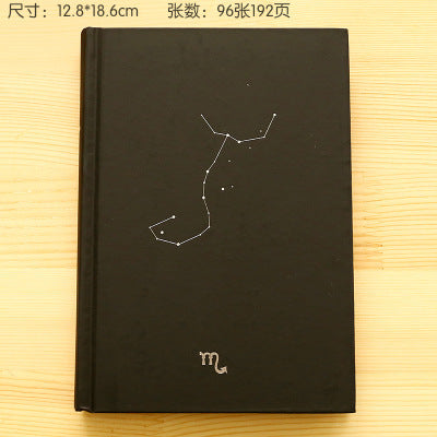 Black Notebook Constellations