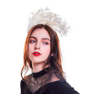 Swan Feather Headpiece