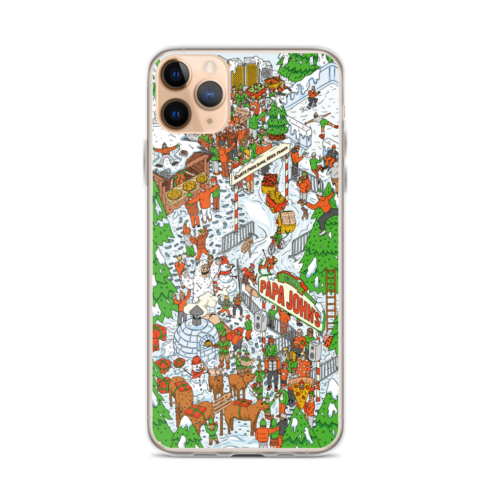 Festive Illustrative iPhone Case