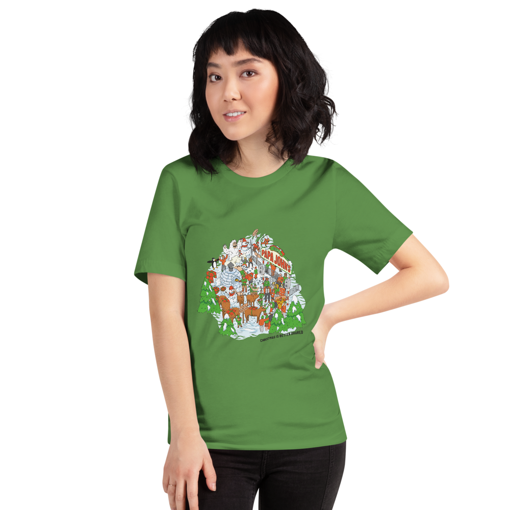 Festive Illustrative T-shirt