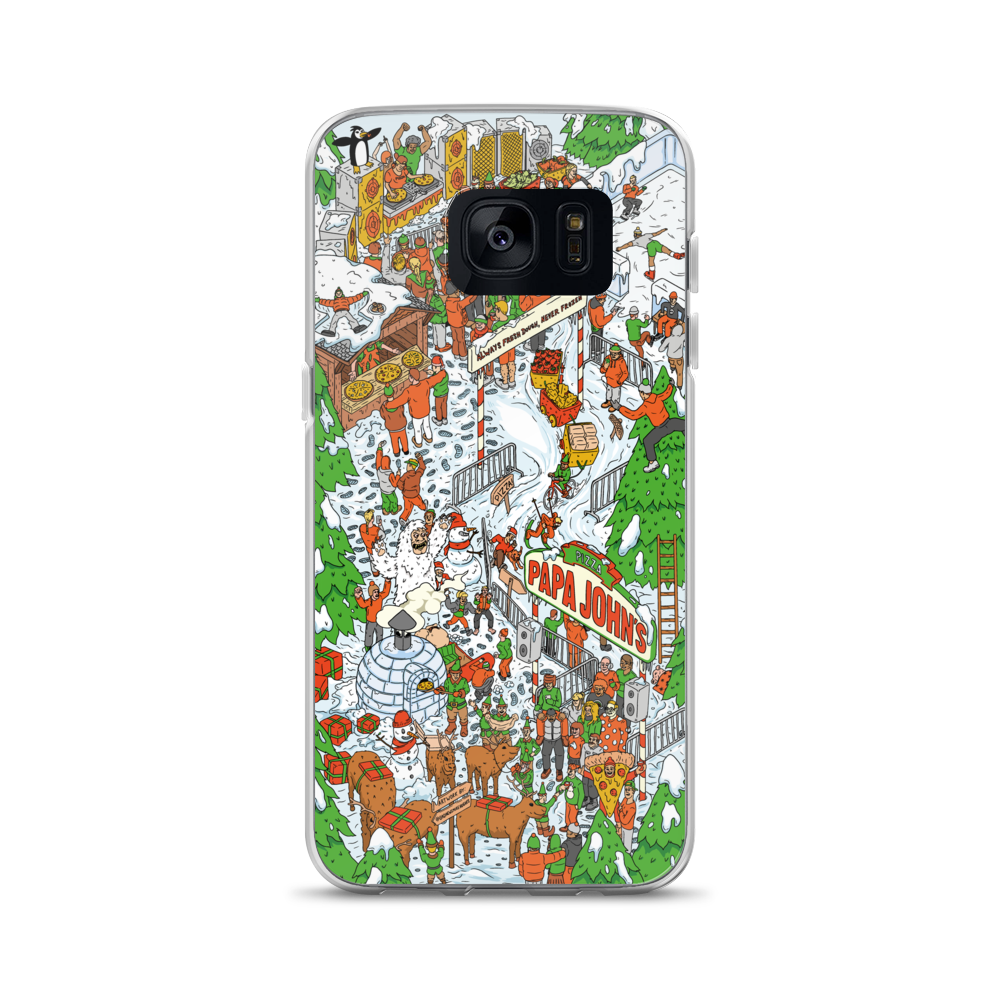 Festive Illustrative Samsung Case
