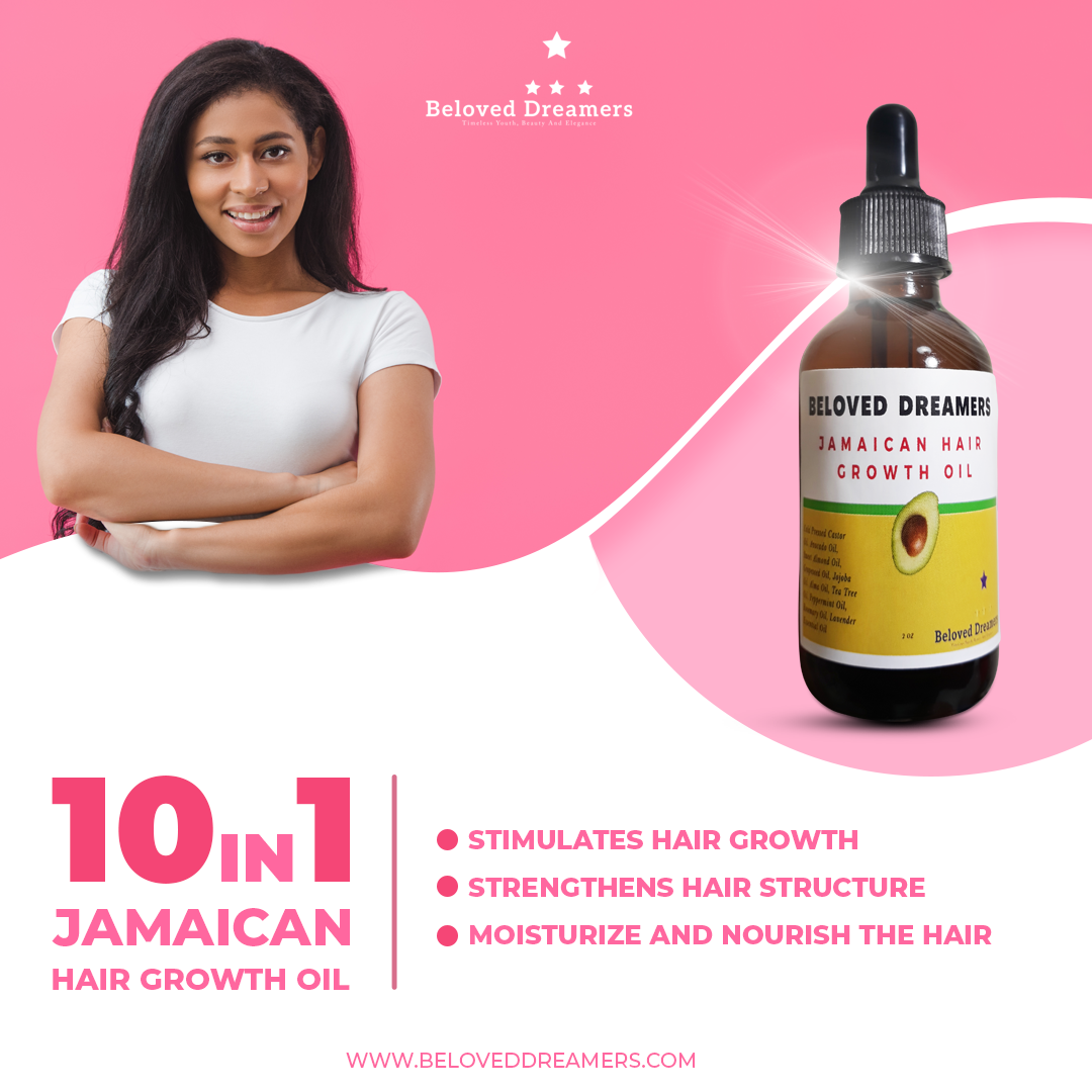 Hair Growth Oil, Jamaican Black Castor Oil,