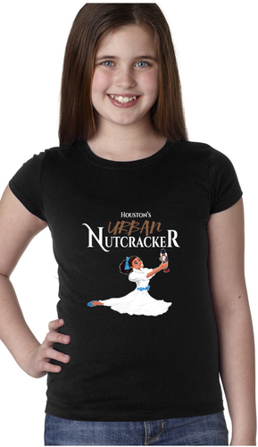 Clare and the Nutcracker Girl's Tshirt